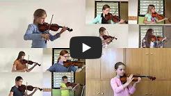 Video Vorspiel Geigenschüler